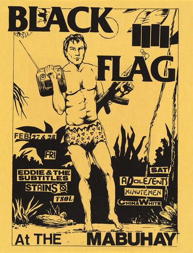 Raymond Pettibon, 'Raymond Pettibon Black Flag at the Mabuhay', 1981