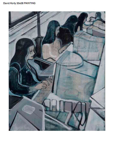 David Korty, 'Untitled (women at computers)', 2007