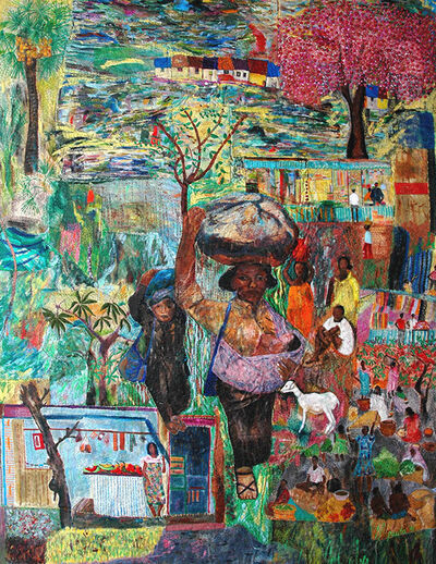 Pacita Abad, 'The village where I came from', 1991