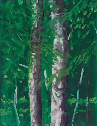 Alex Katz, 'Two Trees', 2006