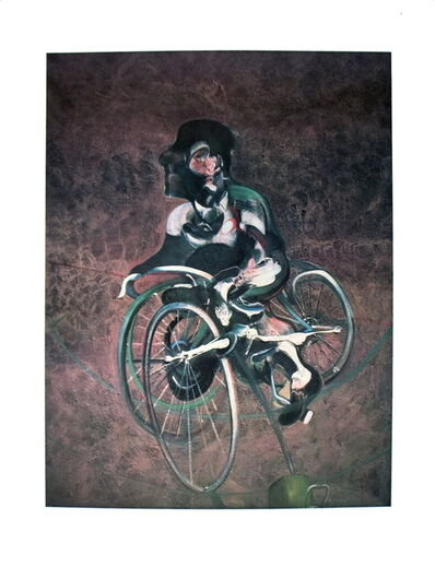 Francis Bacon, 'Georges a Bicyclette', 1995