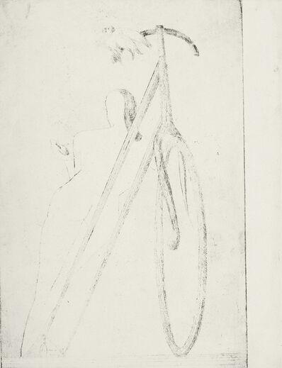 Óscar Domínguez, 'Femme à la bicyclette', 1935