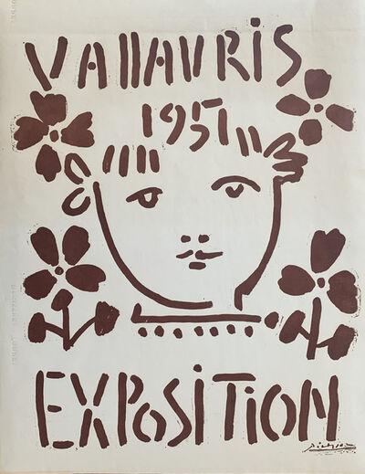 Pablo Picasso, 'Vallauris 1951 Exposition', 1951