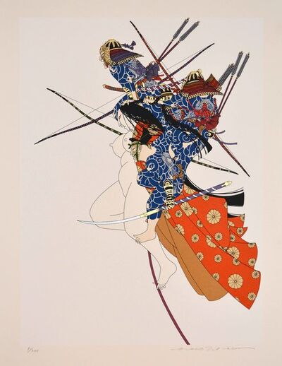 Hideo Takeda, 'Taira Clan at the Dan-no-Ura Battle', 1985 -1999
