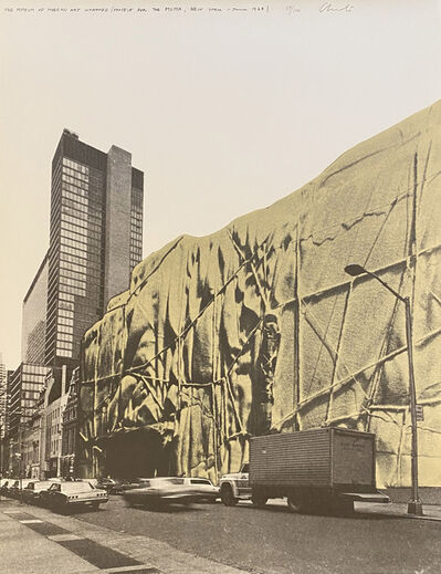 Christo, 'The Museum of Modern Art-Wrapped (Project for the Museum of Modern Art New York June 1968)', 1971