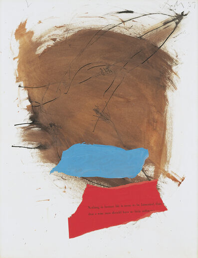 Robert Motherwell, 'Untitled', 1959