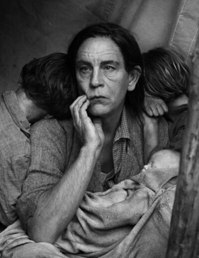 Sandro Miller, 'Dorothea Lange / Migrant Mother, Nipomo, California (1936)', 2014