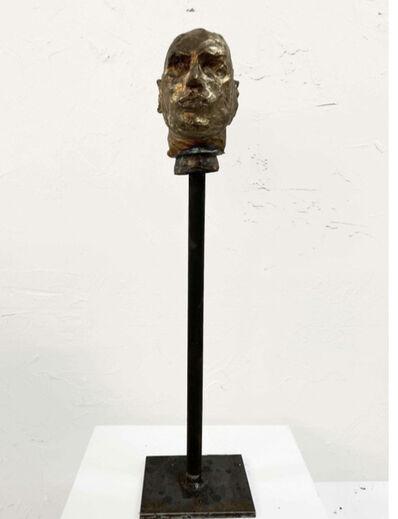 Carlos Quintana, 'Bronze Head #4', 2019
