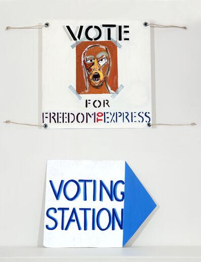 Richard Mudariki, 'Election Poster II', 2018