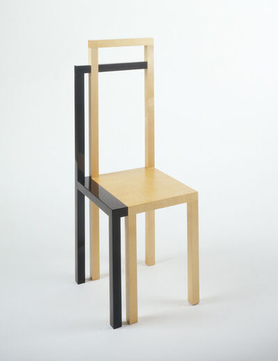 Robert Wilson, 'Parzival: A Chair With A Shadow, Originally Designed For Parzival', 1987