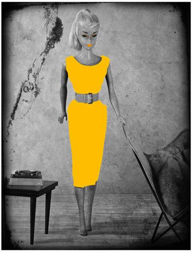 Lars Tunebo, 'Barbie Batchair, Yellow', 2019