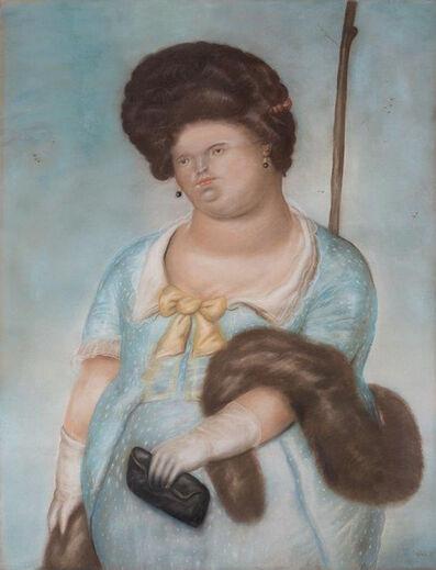 Fernando Botero, 'Society Lady', 1973