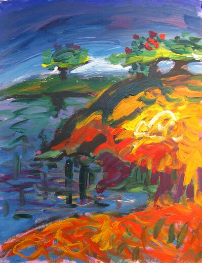 Yehouda Chaki, 'Spring Landscape 8182-A', 1991
