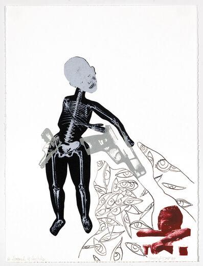 Joyce J. Scott, 'From the Series Soul Erased: Scorned He Implodes', 1999