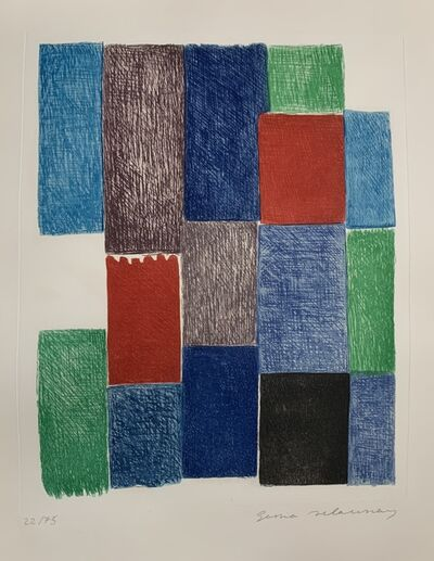 "Sonia Delaunay, 'Plate 10 from ""Avec Moi-Même"" ', 1970"