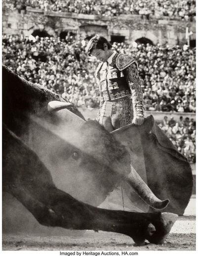 Lucien Clergue, 'El Cordobes après le descabello, Nîmes', 1965-2007