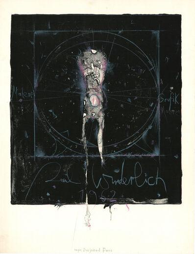 Paul Wunderlich, 'Plakat Brockstedt', 1962