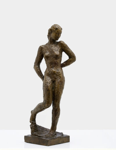 Georg Kolbe, 'Statuette', 1925