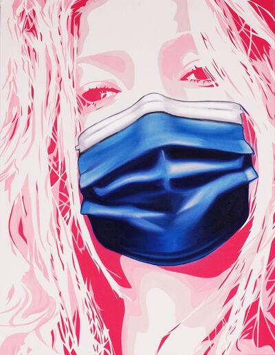 Hijack, ''Kate Mask' Unique Painting ', 2020