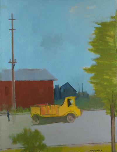 Herman Maril, 'The Yellow Truck', 1980
