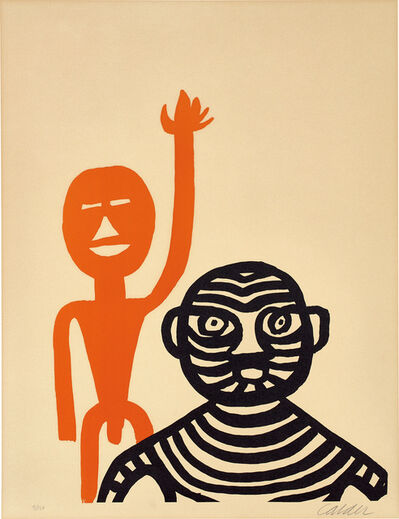 Alexander Calder, 'Les Affichistes (The Poster Artists)', 1965