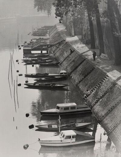 Todd Webb, 'Quai Bourbon, Ile St. Louis, Paris', 1951