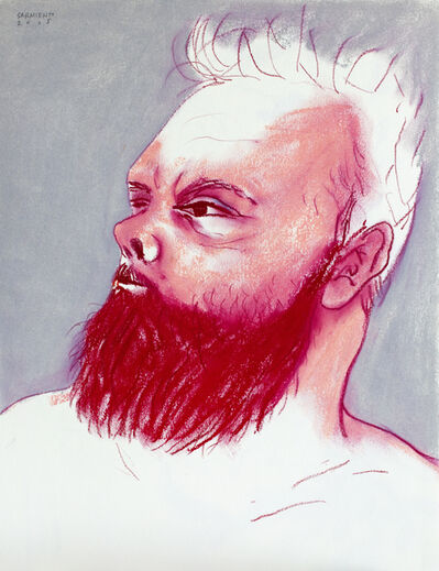 Eduardo Sarmiento, 'Beard Power (self-portrait)', 2015