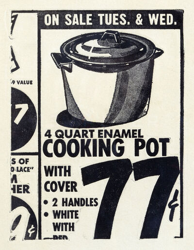 Andy Warhol, 'Cooking Pot (FS II.1)', 1962