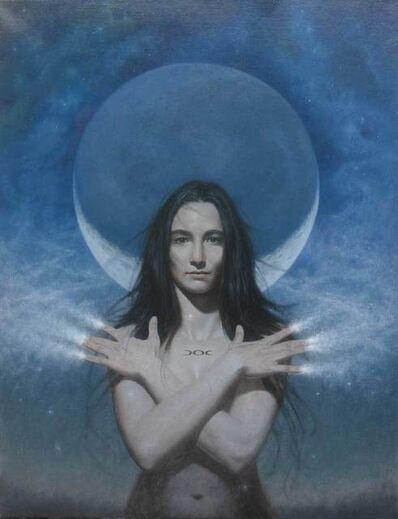 Vince Natale, 'Moon Goddess', 2017