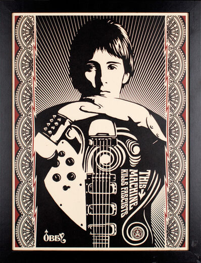Shepard Fairey, 'This Machine Kills Fascists', 2007