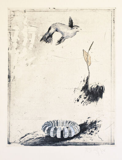 Donald Saff, 'Bird Flower Ring', 1979