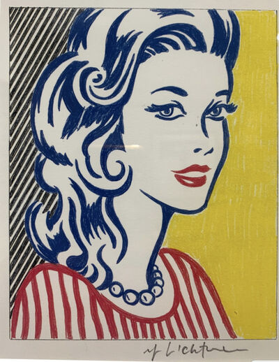 Roy Lichtenstein, 'Study for 'Portrait Triptych'', 1974