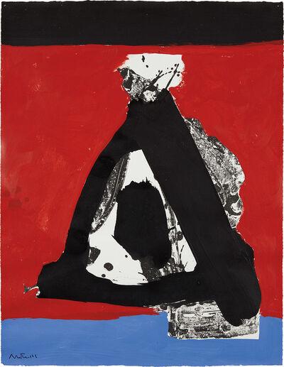 Robert Motherwell, 'I.H. Series No. 26', 1970