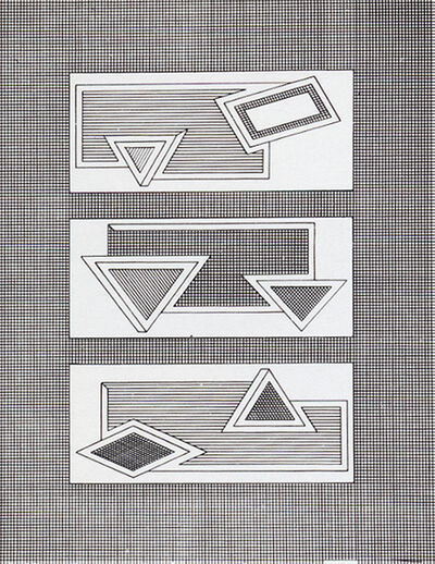 Frank Stella, 'Grid Stack', 1970