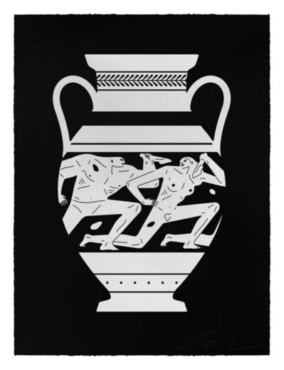 Cleon Peterson, 'End Of Empire, Amphora (Black)', 2018