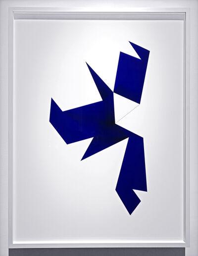 Anne-Katrine Senstad, 'Universals Foldouts 07022012 Blue', 2013