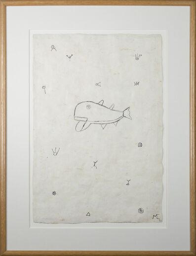Miguel Castro Leñero, 'Whale in a Sea of Symbols', 1991