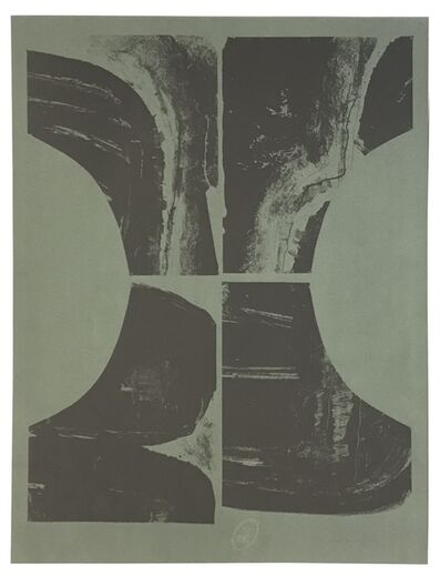 Louise Nevelson, 'Untitled (Lithograph on Olive Paper)', 1965-66