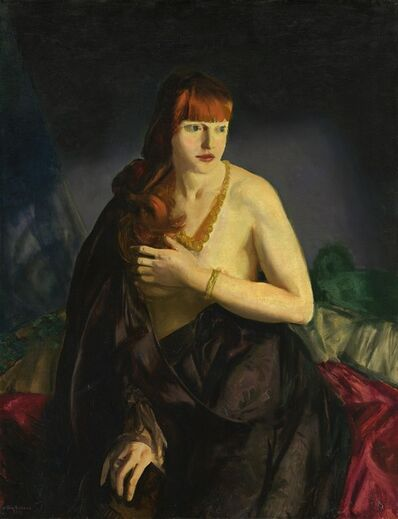 George Wesley Bellows, 'Nude with Red Hair', 1920