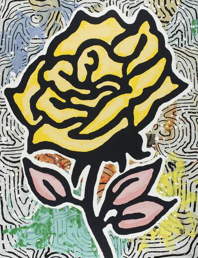 Donald Baechler, 'Yellow Rose, ed. of 35', 2015