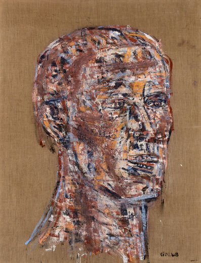 Leon Golub, 'Head of a Warrior', 1970