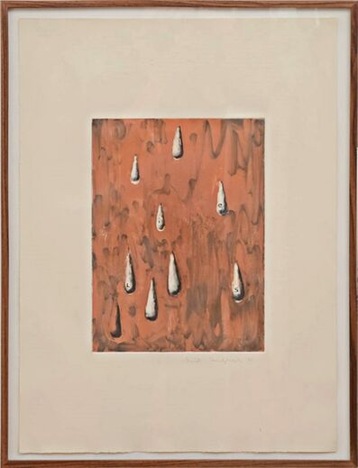 David Humphrey, 'LIES III (Framed with David McKee Gallery Label)', 1986