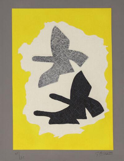 Georges Braque, 'Les Trois Oiseaux en Vol', 1961