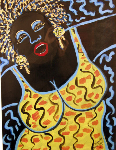 Faith Ringgold, 'Jazz Stories: Mama Can Sing #7', 2001-2004