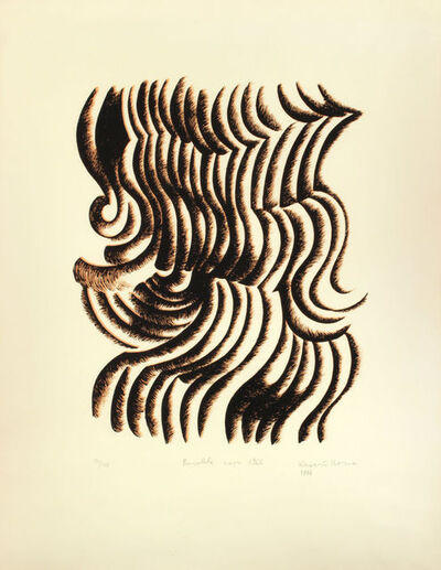 Ilona Keserü, 'Baroque drawing ', 1976