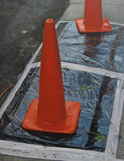 Justin Hunter Allen, 'Untitled: Orange Cones', 2006