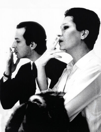 Rose Hartman, 'Elsa Peretti and Fred Hughes at the Marlborough Gallery', 1992