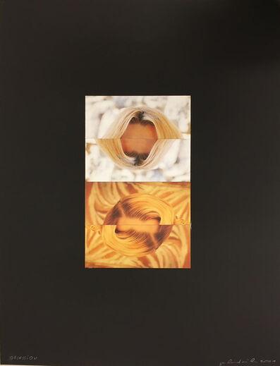 Gerhard Rühm, 'obsession', 2001
