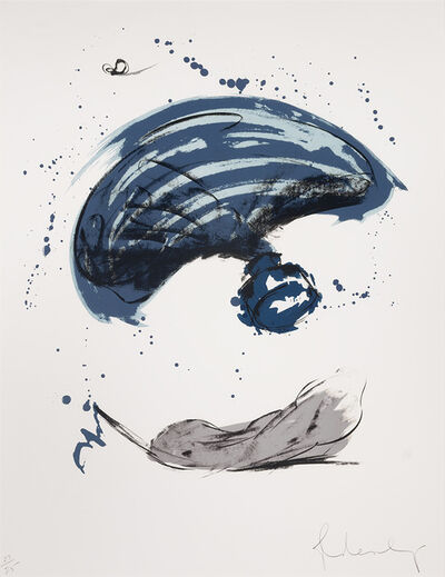 Claes Oldenburg, 'Thrown Ink Bottle With Fly And Dropped Quill (Axsom/Platzker 229)', 1991