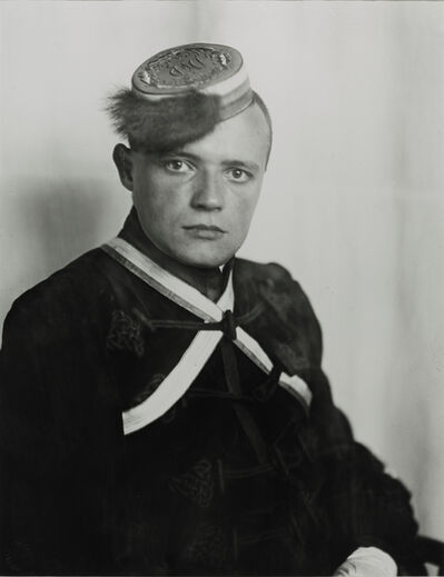 August Sander, 'Fraternity Student, 1925'